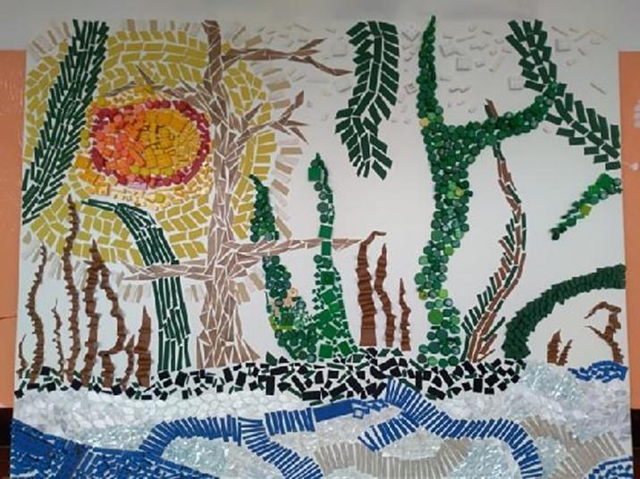Hraní při výtvarné výchově a keramice