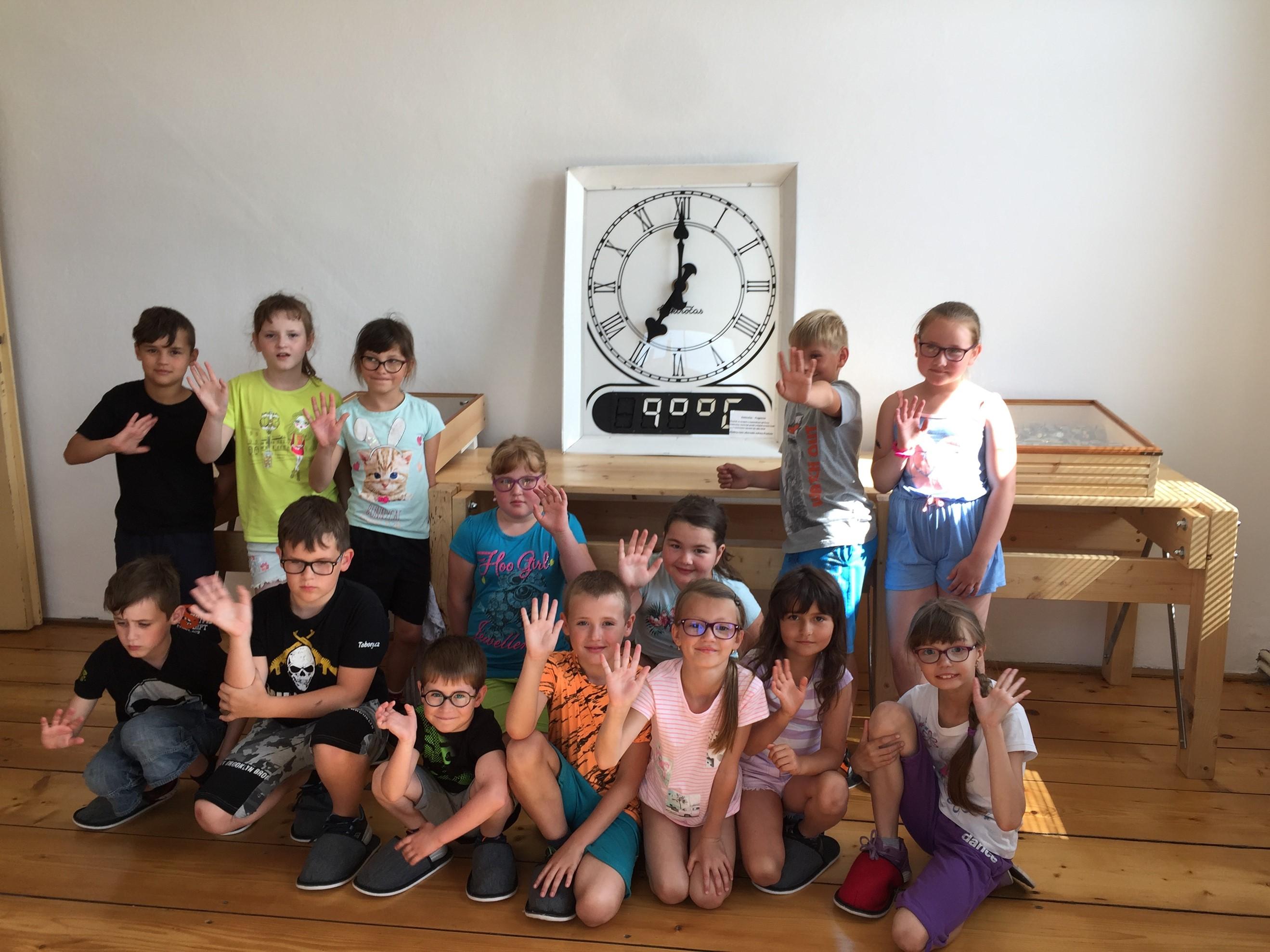 2. třída na školním výletě v Protivíně