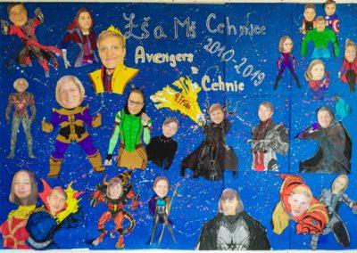 Tablo 9. třídy – Avengers Style