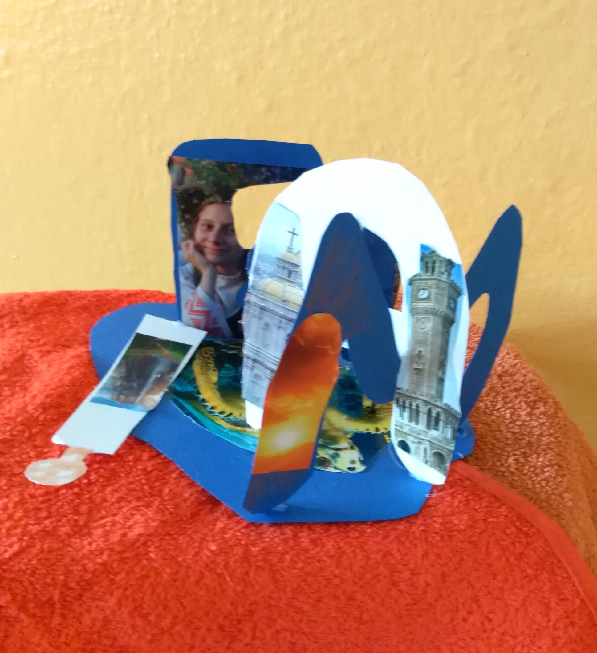 Páťáci si vytvořili svůj 3D podpis