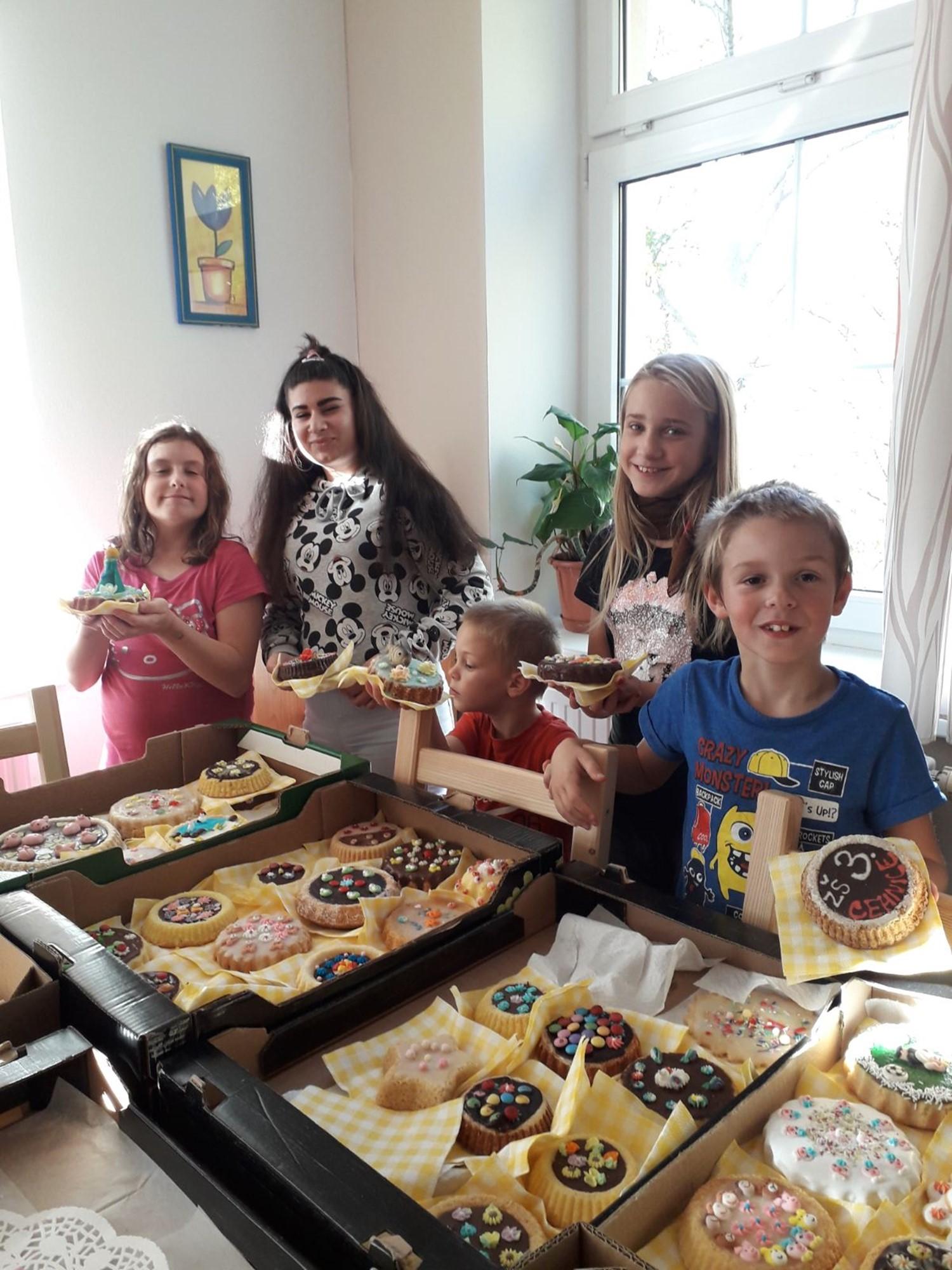 Hnětýnky v Dětském domově Polárka Písek
