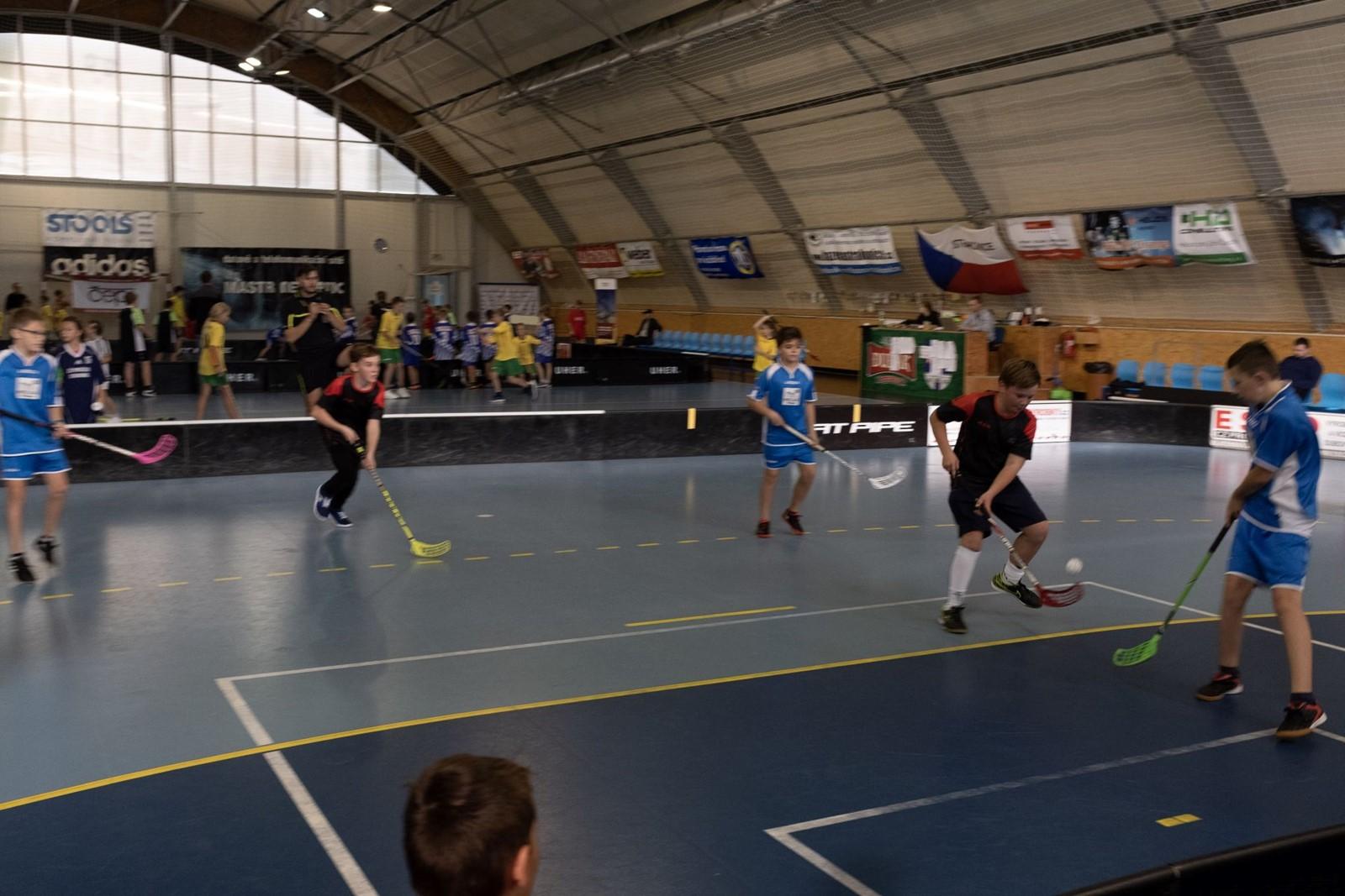 Floorbalový ČEPS Cup ve Strakonicích