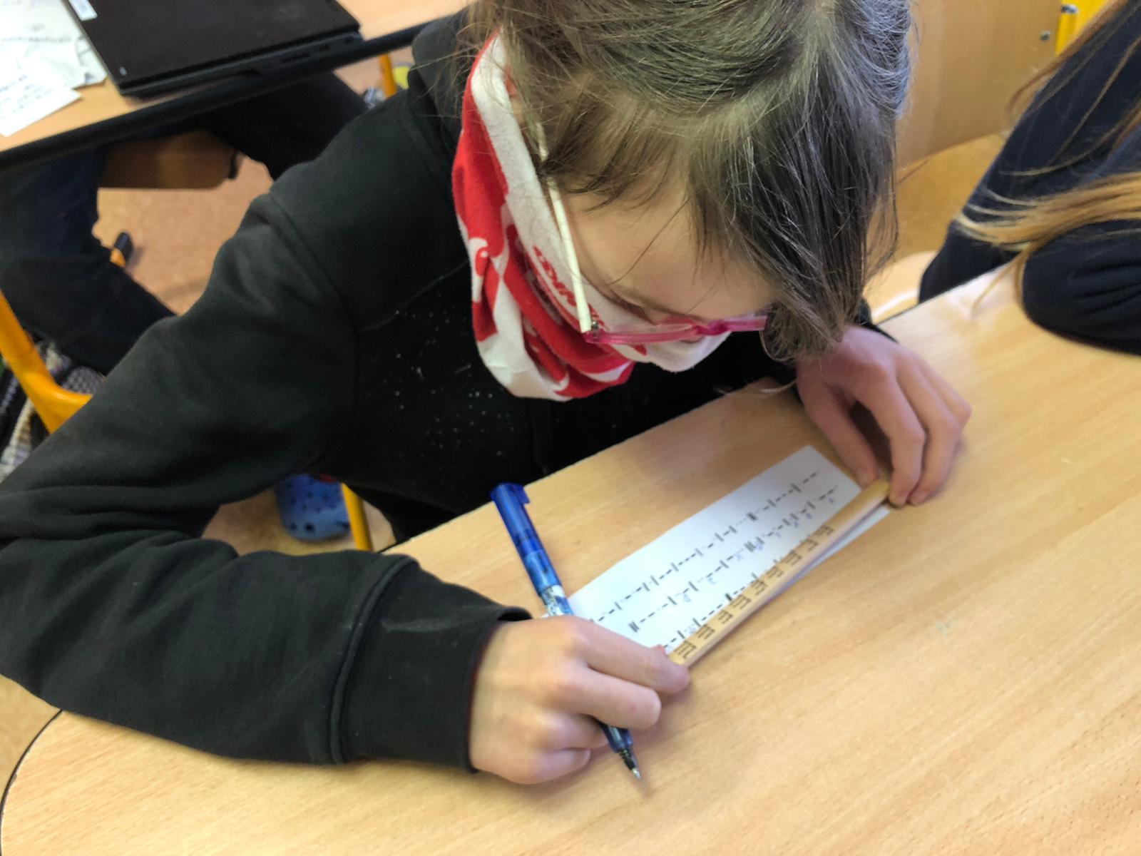 Předvánoční nahlédnutí do páté třídy