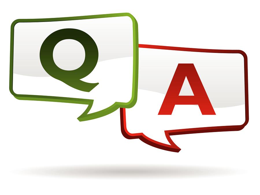 QUESTION AND ANSWERS (otázky a odpovědi)